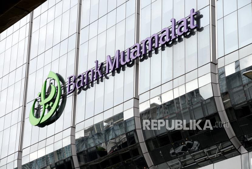 Kantor pusat Bank Muamalat di kawasan Kuningan, Jakarta.