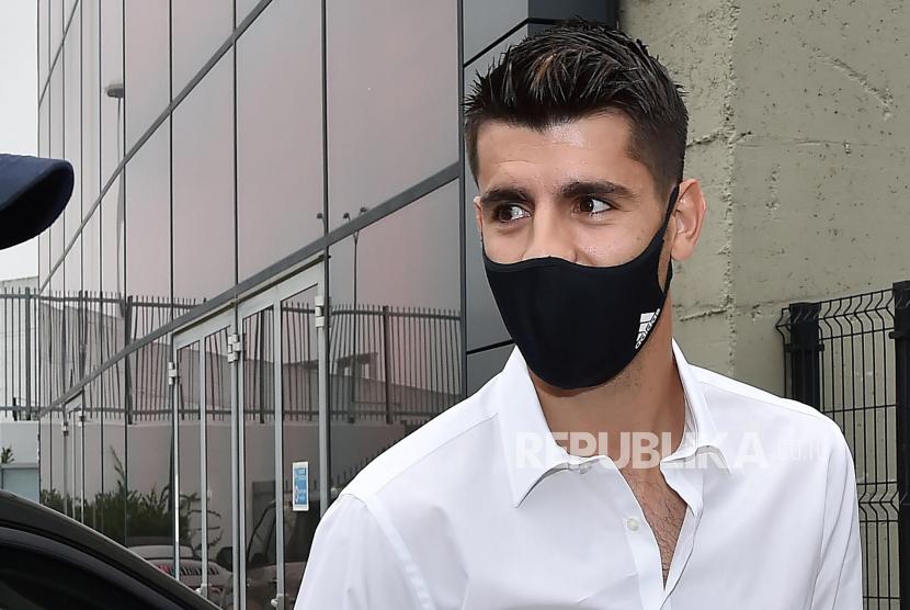 Musim Ini, Morata Sesumbar Cetak 35 Gol untuk Juventus