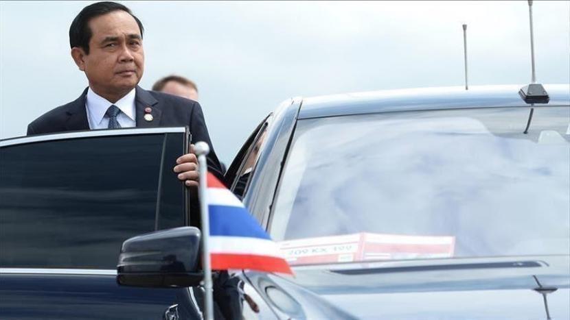 Thailand mencatat penambahan 17.970 kasus Covid-19 pada Senin (2/8).