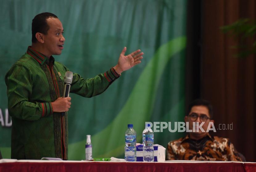 Menteri Investasi/Kepala Badan Koordinasi Penanaman Modal (BKPM) Bahlil Lahadalia.