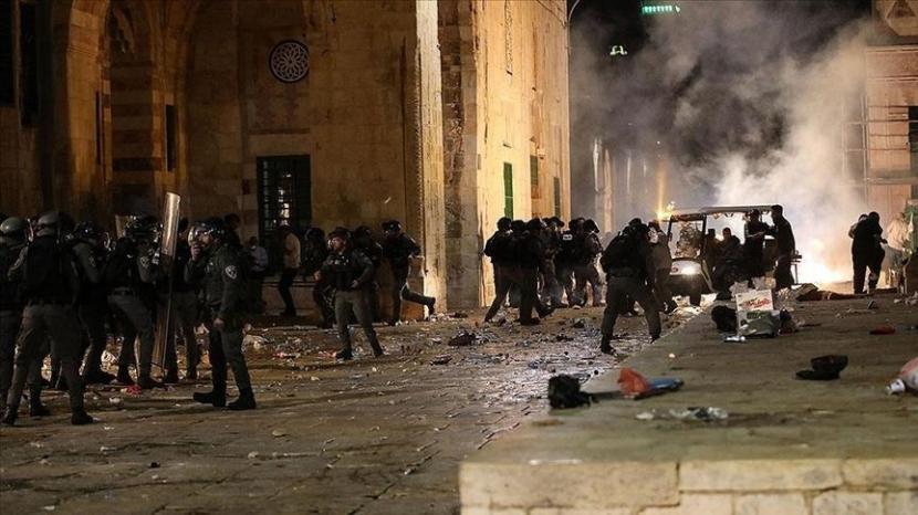 Brigade Qassam mengumumkan serangan yang menargetkan kendaraan militer Israel di dekat perbatasan Gaza - Anadolu Agency