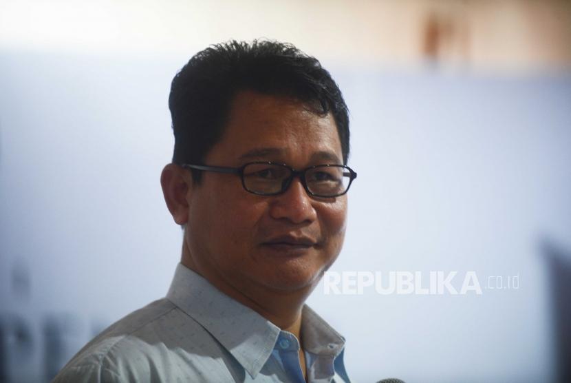 Direktur Saiful Mujani Research and Consulting (SMRC) Sirojuddin Abbas.