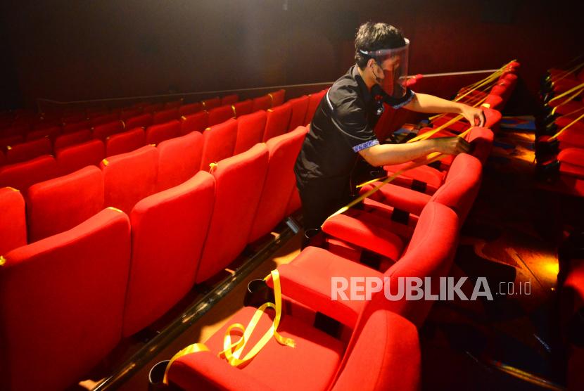 emerintah Kota Batam, Kepulauan Riau, mengizinkan bioskop beroperasi (ilustrasi).