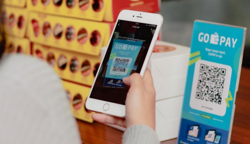 Cara Bayar Zakat Cuma Pakai Handphone, Mudah! (Foto: Go-Pay)