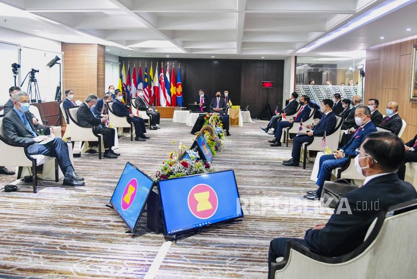 ASEAN Tunjuk Menlu Brunai Sebagai Untusan Khusus Myanmar (ilustrasi).