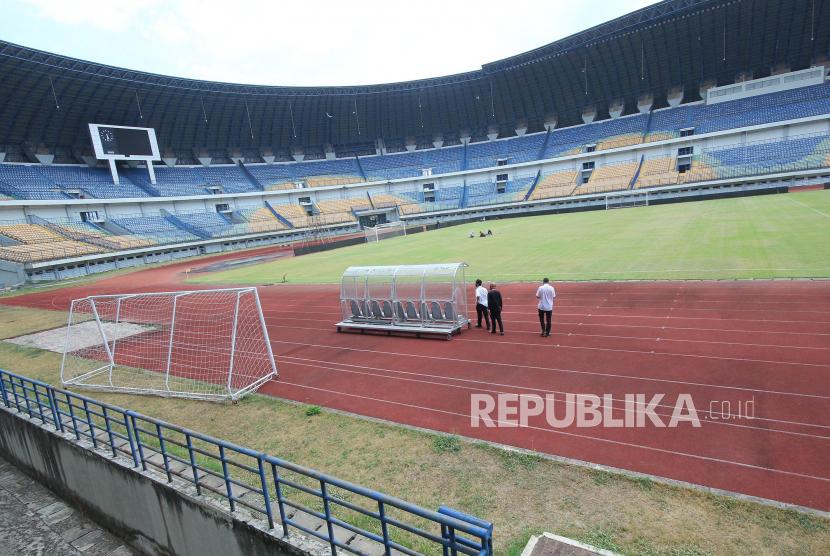 Stadion Gelora Bandung Lautan Api (GBLA), Gedebage, Kota Bandung.