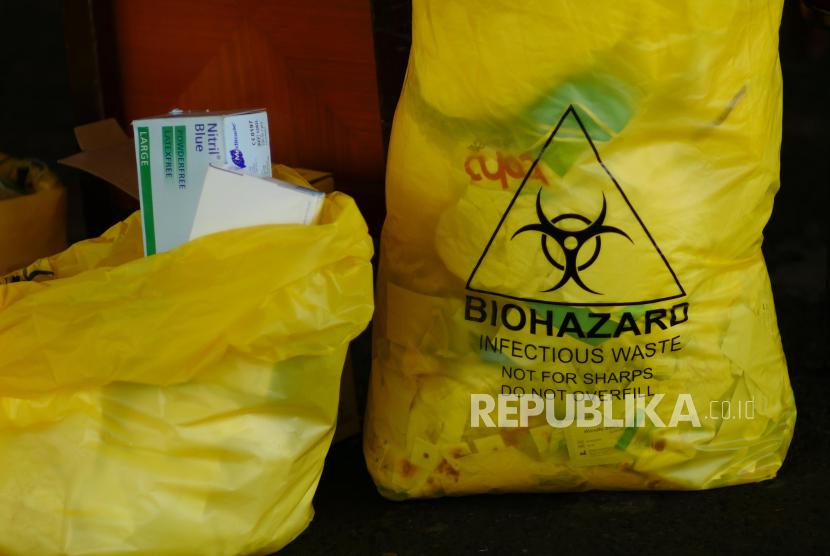 Sampah medis (ilustrasi)