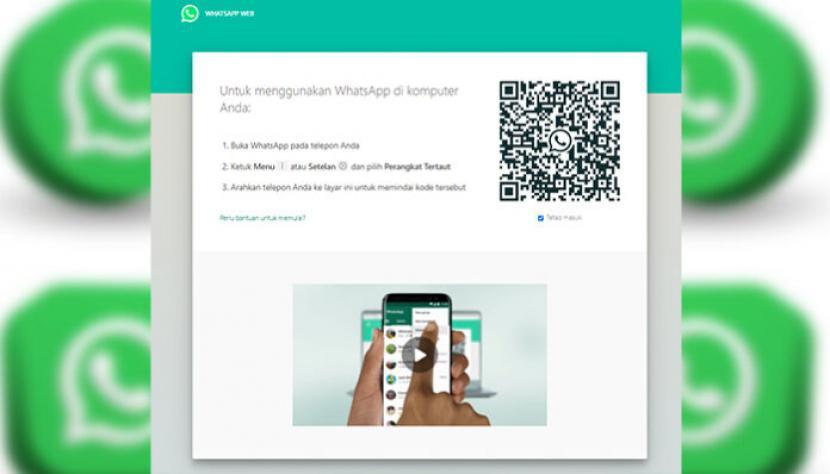 WA WEB: Cara Login atau Menggunakan WhatsApp Web di PC/Laptop