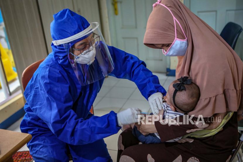 Satuan Tugas (Satgas) Covid-19 Kabupaten Bangka, Provinsi Kepulauan Bangka Belitung, mencatat, tujuh orang anak pada kelompok usia balita di daerah itu terjangkit Covid-19. (Ilustrasi)
