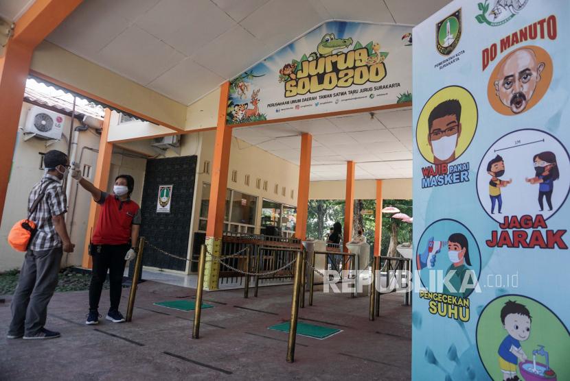 Libur Lebaran Kebun Binatang Jurug Solo Tetap Buka (ilustrasi).