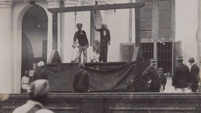 Hiiii... Hiburan Warga Batavia: Nonton Hukuman Mati Penggal Kepala