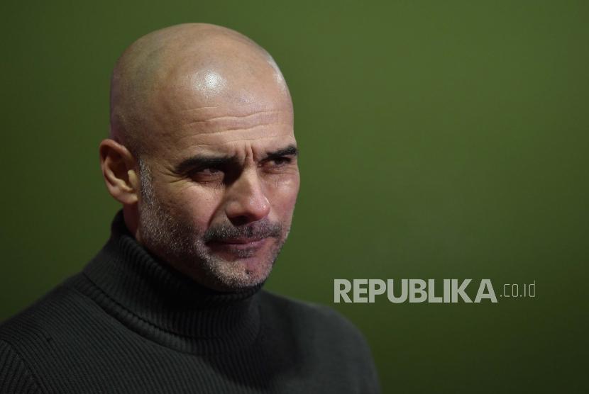 Pep Guardiola tak Pikirkan Laga MU Vs Sheffield United