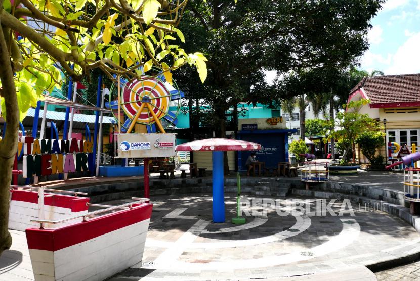 Objek wisata edukasi Taman Pintar di Yogyakarta.