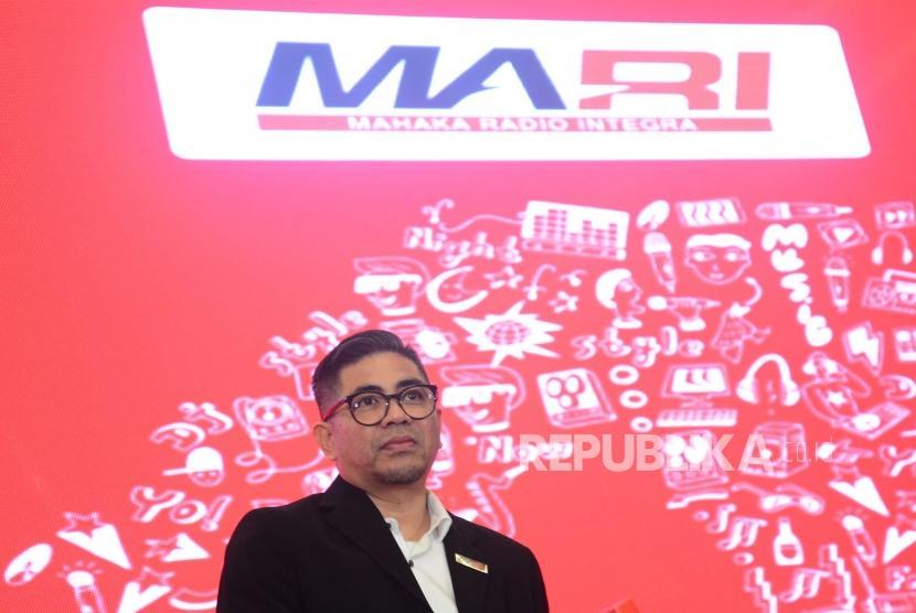 Direktur Utama  PT Mahaka Radio Integra Tbk  Adrian Syarkawie.