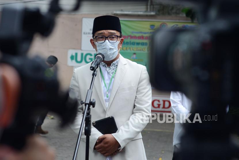 Ridwan Kamil Jamin Keamanan Selama Paskah. Gubernur Jawa Barat Ridwan Kamil