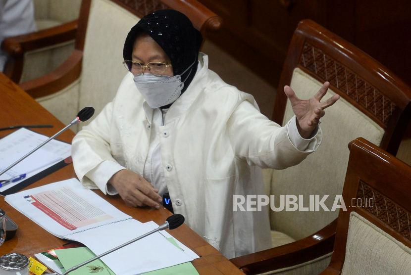 Menteri Sosial (Mensos) Tri Rismaharini.