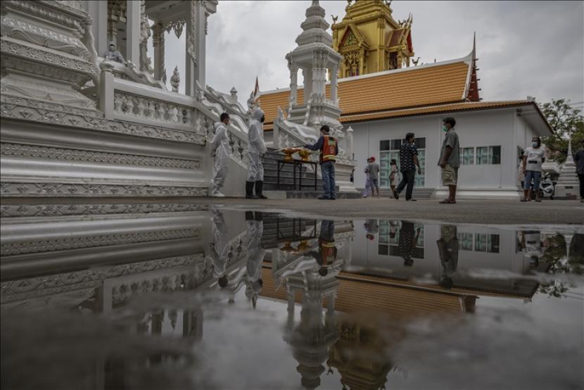 Laos melaporkan tambahan 154 kasus Covid-19 pada Kamis (16/9) sehingga totalnya menjadi 18.059 orang.