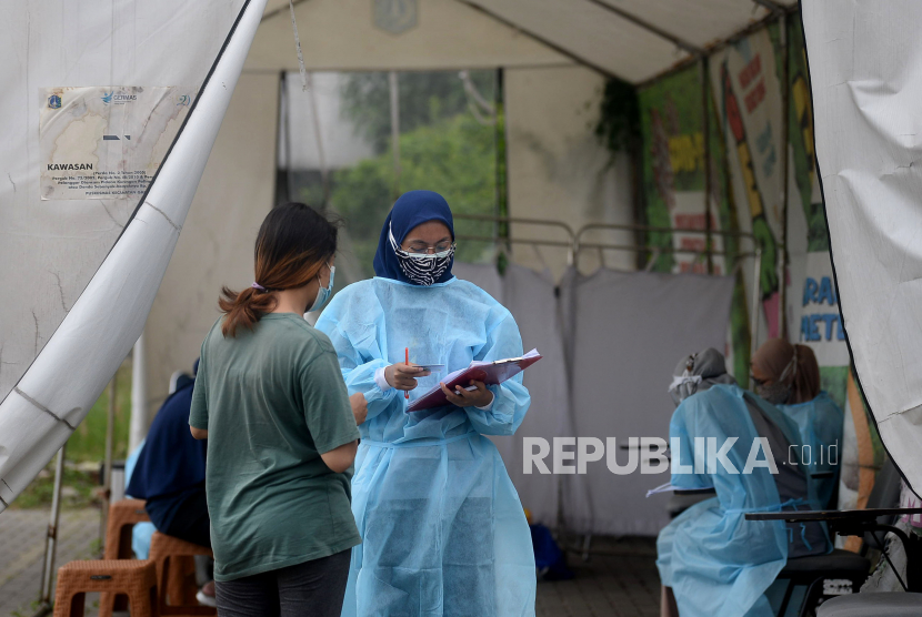 Pasien Covid-19 sembuh terbanyak tercatat di Kabupaten Lampung Utara.
