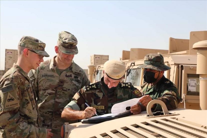 Dalam pertemuan yang bertujuan untuk memperkuat kerja sama antara Amerika Serikat dan Irak pada Senin (26/7), para pemimpin kedua negara membahas berbagai masalah, termasuk perang melawan Daesh/ISIS, inisiatif iklim, energi, pendidikan dan pandemi Covid-19.