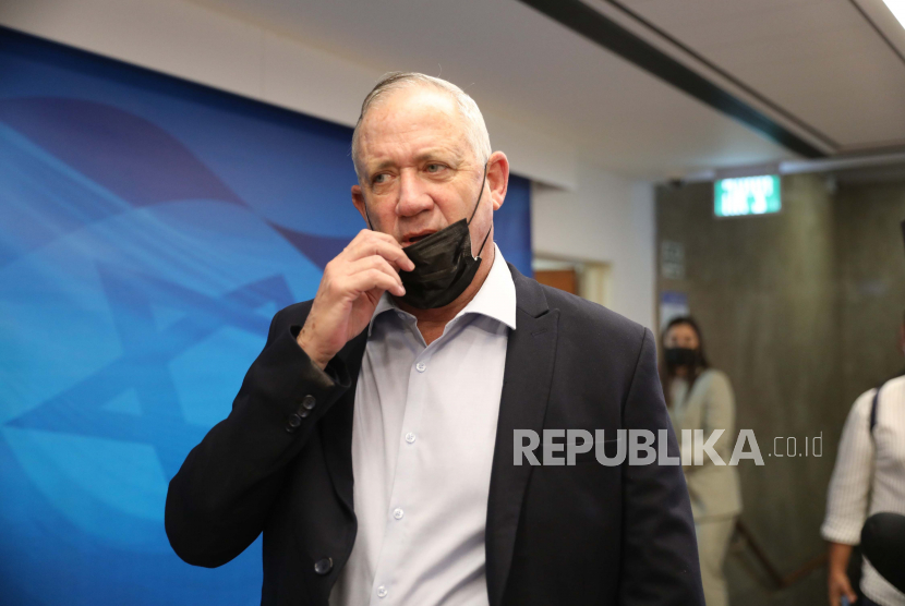 Menteri Pertahanan Israel Benny Gantz.