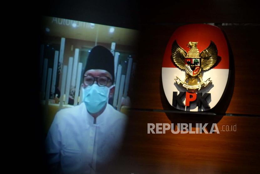 Terdakwa kasus dugaan suap terkait pengurusan proposal dana hibah Komite Olahraga Nasional Indonesia (KONI) dan Gratifikasi Imam Nahrawi.