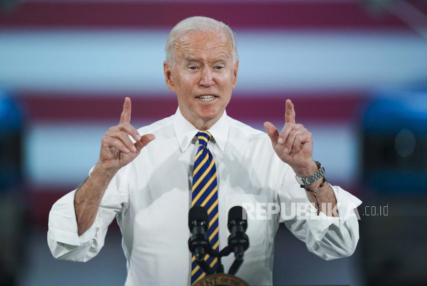 Presiden Amerika Serikat Joe Biden memperkirakan Jakarta akan tenggelam 10 tahun lagi (ilustrasi).