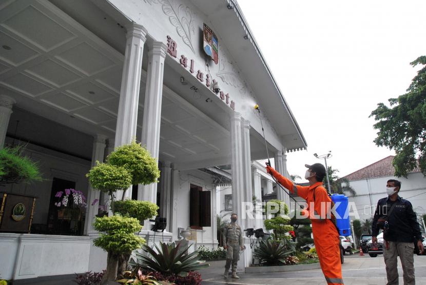 Balai Kota Bogor (ilustrasi)