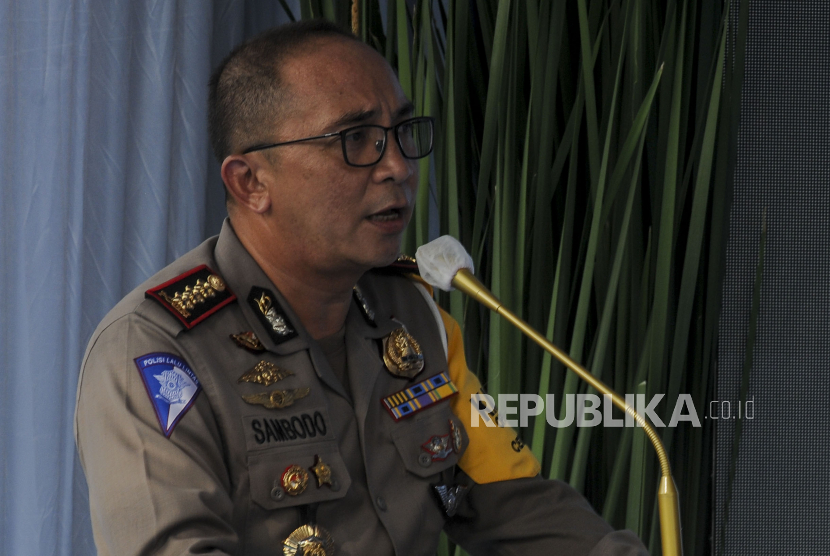 Direktur Lalu Lintas Polda Metro Jaya - Kombes Sambodo Purnomo Yogo