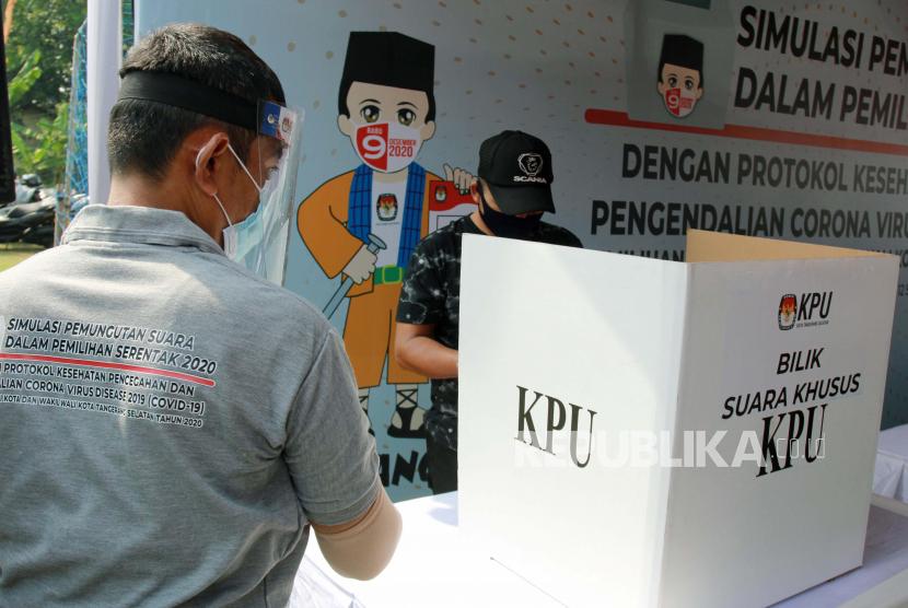 Pilkades Serentak di Kabupaten Tangerang Kembali Ditunda (ilustrasi).