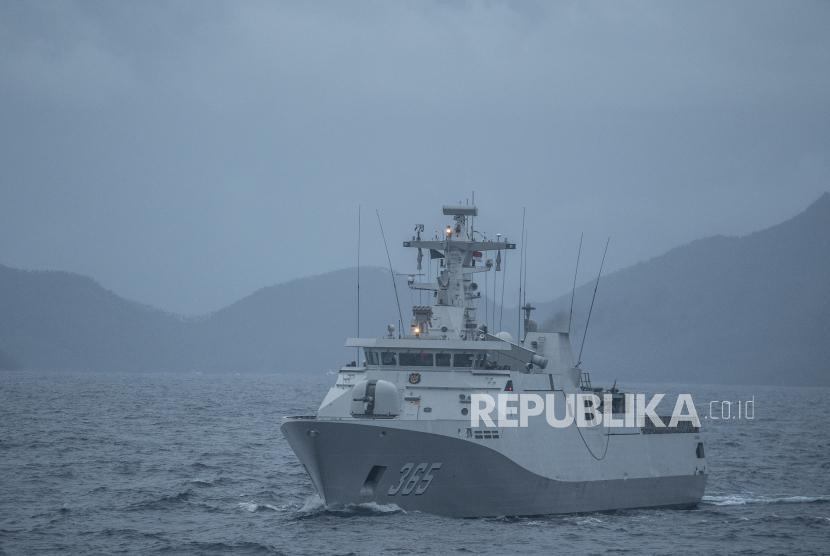 Penambahan satuan baru di Natuna wujud jaga kedaulatan NKRI. Ilustrasi TNI AL di Natuna
