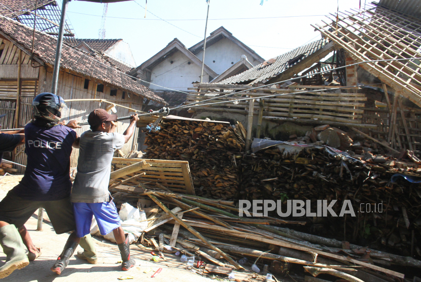 Pendataan Akibat Gempa Bumi di Kabupaten Malang Rampung (ilustrasi).