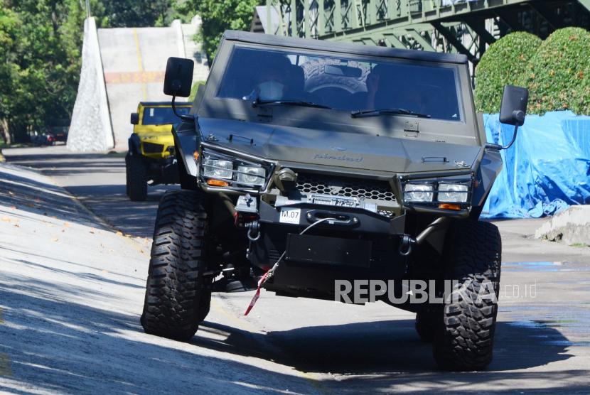 Pindad Perkenalkan Inovasi Kendaraan Terbaru, MV2 4x4 Pindad (ilustrasi).
