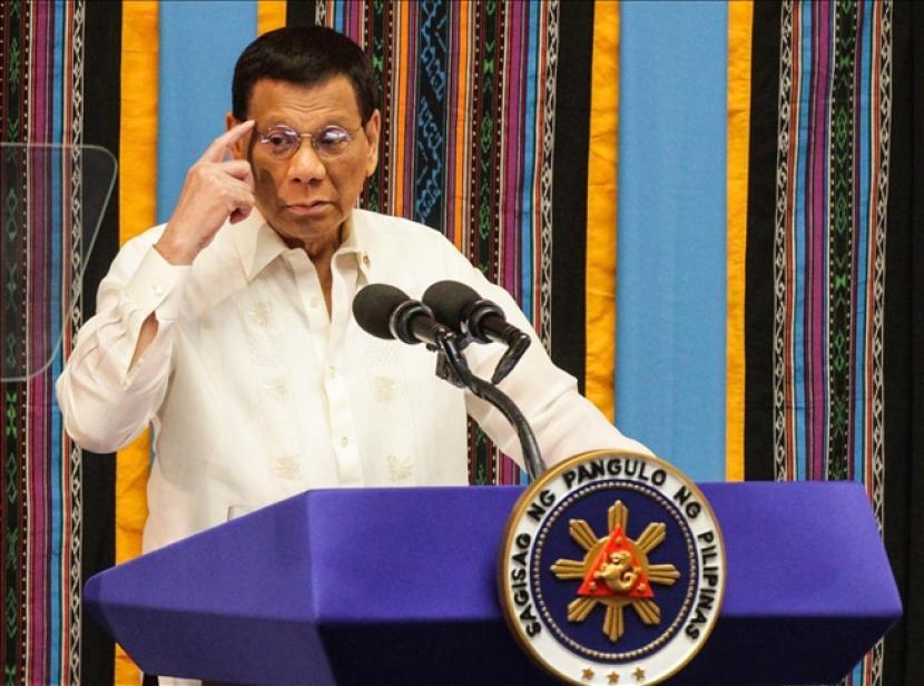 Menurut Duterte, rakyat Filipina dan negara mendapat manfaat dari perang narkoba.