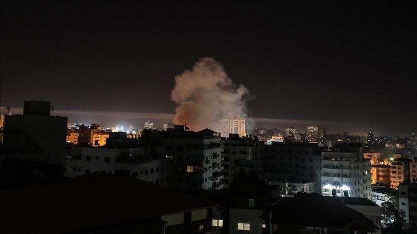 Sedikitnya 219 warga Palestina gugur dalam serangan Israel di Gaza sejak 10 Mei.