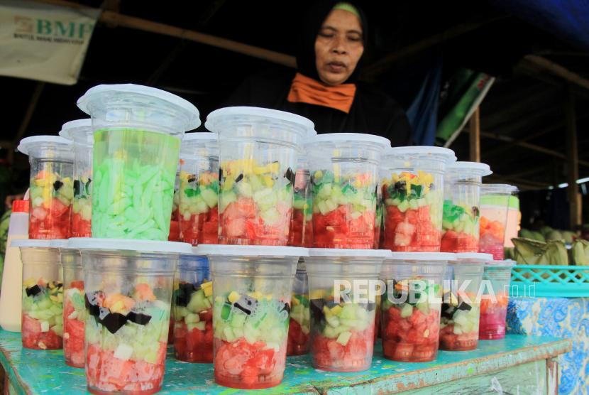 Pemkab Bangkalan Tiadakan Bazar Takjil Ramadhan 1442 H  (ilustrasi).