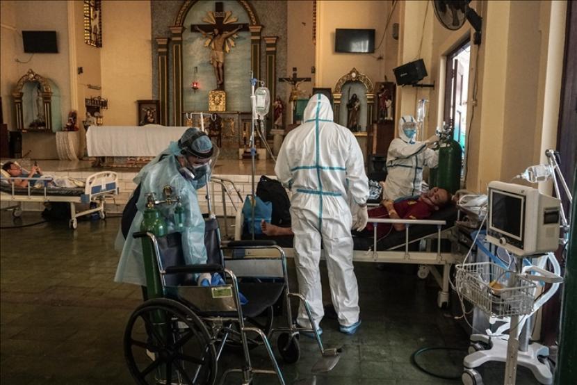 Filipina pada Jumat (17/9) melaporkan kasus Covid-19 sebanyak 20.336 dalam 24 jam terakhir sehingga total infeksi mencapai 2.324.475.