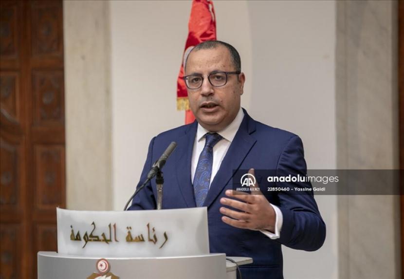 PM Hichem Mechichi merilis pernyataan tentang perkembangan terbaru di Tunisia.