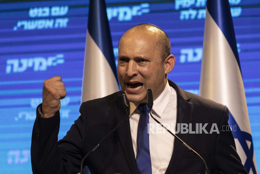 Politisi Israel Naftali Bennett.