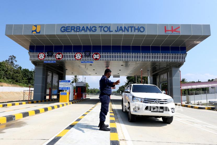 Pembangunan Jalan Tol Banda Aceh Sigli Seksi 3 Rampung Republika Online