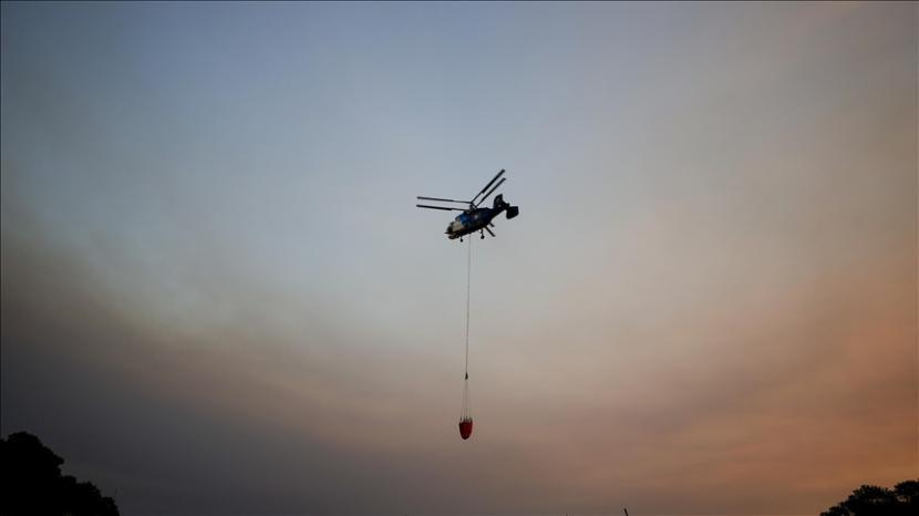 Sebanyak 98 dari 107 kebakaran hutan di Turki sudah terkendali.