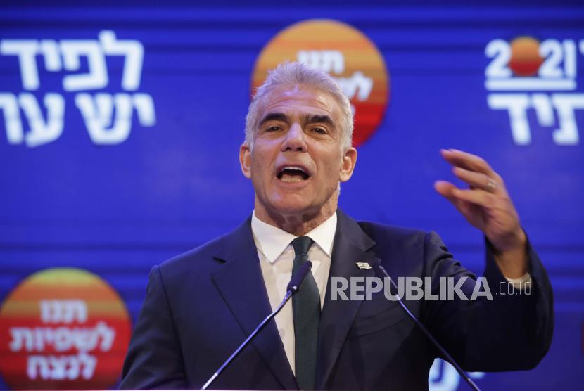 Pemimpin partai Yesh Atid, Yair Lapid.