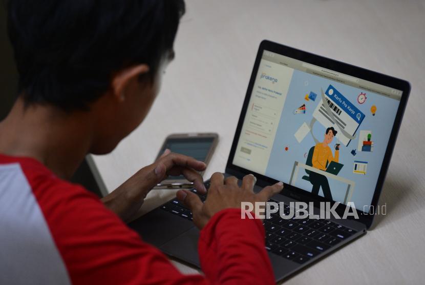 Buruh Jateng Kesulitan Daftar Kartu Prakerja Republika Online