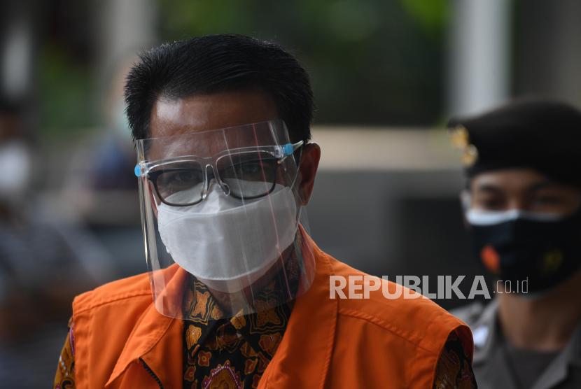Tersangka, Gubernur nonaktif Sulawesi Selatan Nurdin Abdullah.