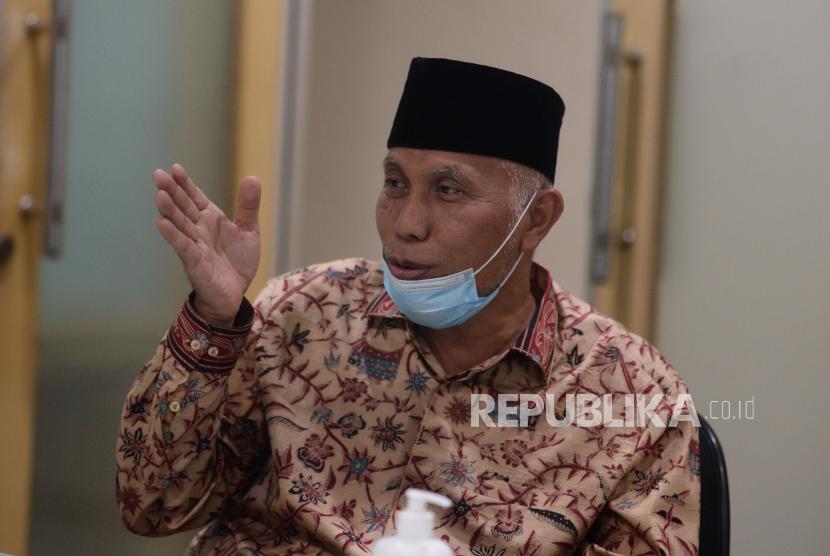 Gubernur Sumatera Barat Mahyeldi Ansharullah