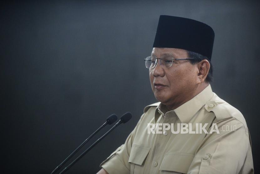 Ketua umum Partai Gerindra, Prabowo Subianto.