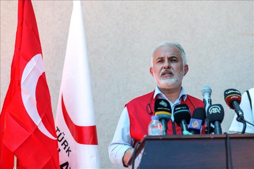 Pusat logistik terbesar di Jalur Gaza resmi dibuka pada Ahad (20/6) atas bantuan Bulan Sabit Merah Turki.