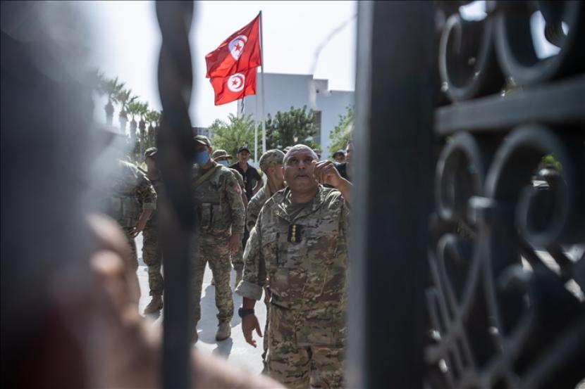 Juru bicara Kemenlu Jerman menyatakan keprihatinan atas krisis politik di Tunisia.