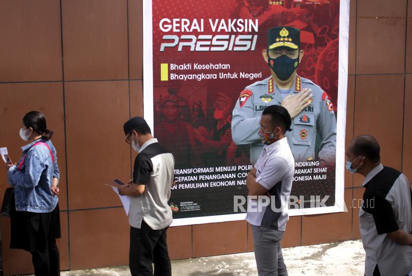 Gerai Vaksinasi Presisi Polres Sukabumi Layani Ratusan Warga (ilustrasi).