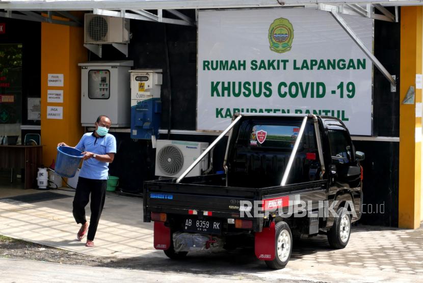 Rumah Sakit Lapangan Covid-19 Bambanglipuro, Bantul, Yogyakarta.