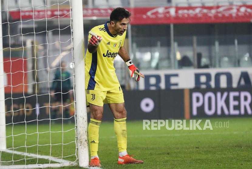 Kiper Juventus Gianluigi Buffon